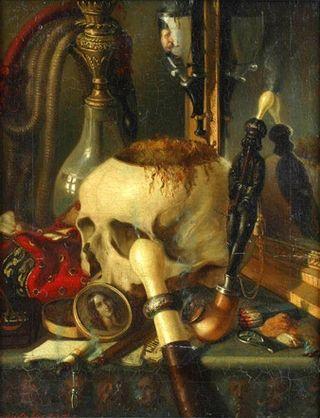 Constantin_Daniel_Rosenthal_-_Vanitas_(1848)
